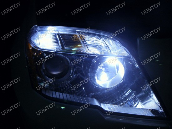 Mercedes - GLK350 - LED - parking - lights 4